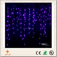 110V 6M 30 LED Icicle Curtain christmas Icicle curtain lights decorative curtain string lights