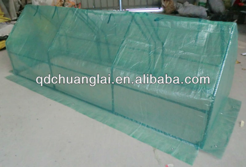 cold frame with pe mesh cover mini greenhouse