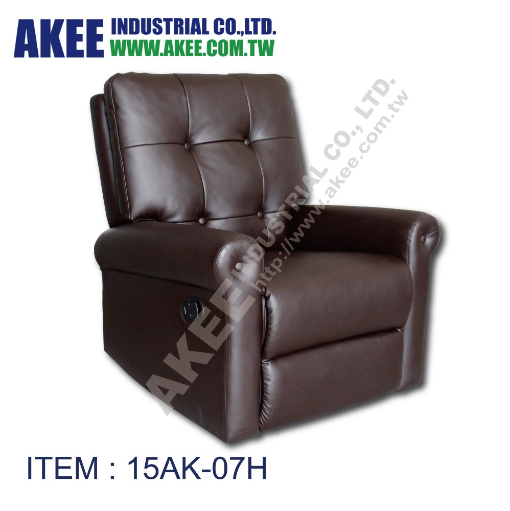 Upholstered glider rocker recliner chair