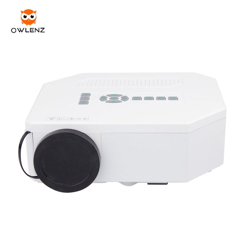 New Low Cost UNIC micro HDMI VGA LED home theatre projector UC30
