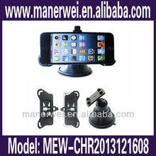 2014 For iPhone 4/4s Windshield Bracket Car Sticker Wall mount holder