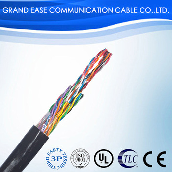 cat5e utp copper shield twisted pair network cable lan cable for telecommunication