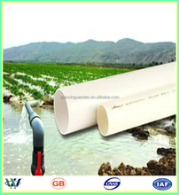 PVC Hexagon Pipes with high quality cheap price Clean PVC Pipe