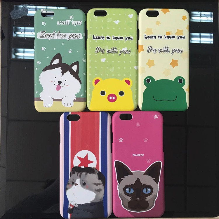 Blank Sublimation Case for iPhone 6 6s 4.7 inch Mobile Case OEM ODM Service 2D sublimation Blank Printing Phone Case