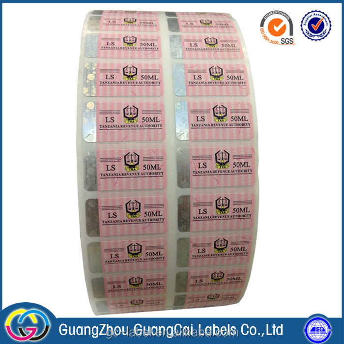 2017 best price transparent vinyl material waterproof self-adhesive labels stickers in roll