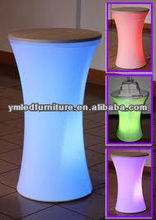 led dry bars/led high tables/ color lighting tables YM-LT4545100