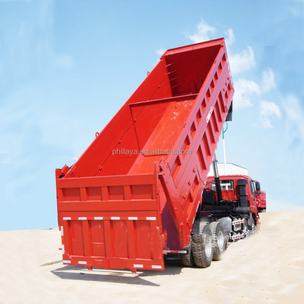 vip Top Quality heavy duty Construction building 3 <strong>axle</strong> 50ton side and <strong>rear</strong> end dump truck trailer