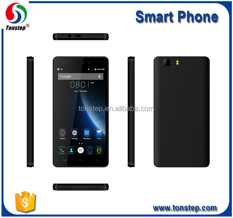 cheap 5.0inch 4G LTE Smart Phone ,dual sim android phone with Quad Core 1G+8G 2+5MP for sale
