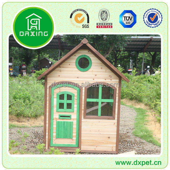DXPH008 Kids outdoor wooden cubby house (BV assessed supplier)