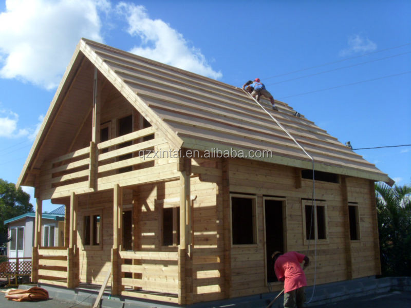 The newly designed prefabricated wooden container house price in China