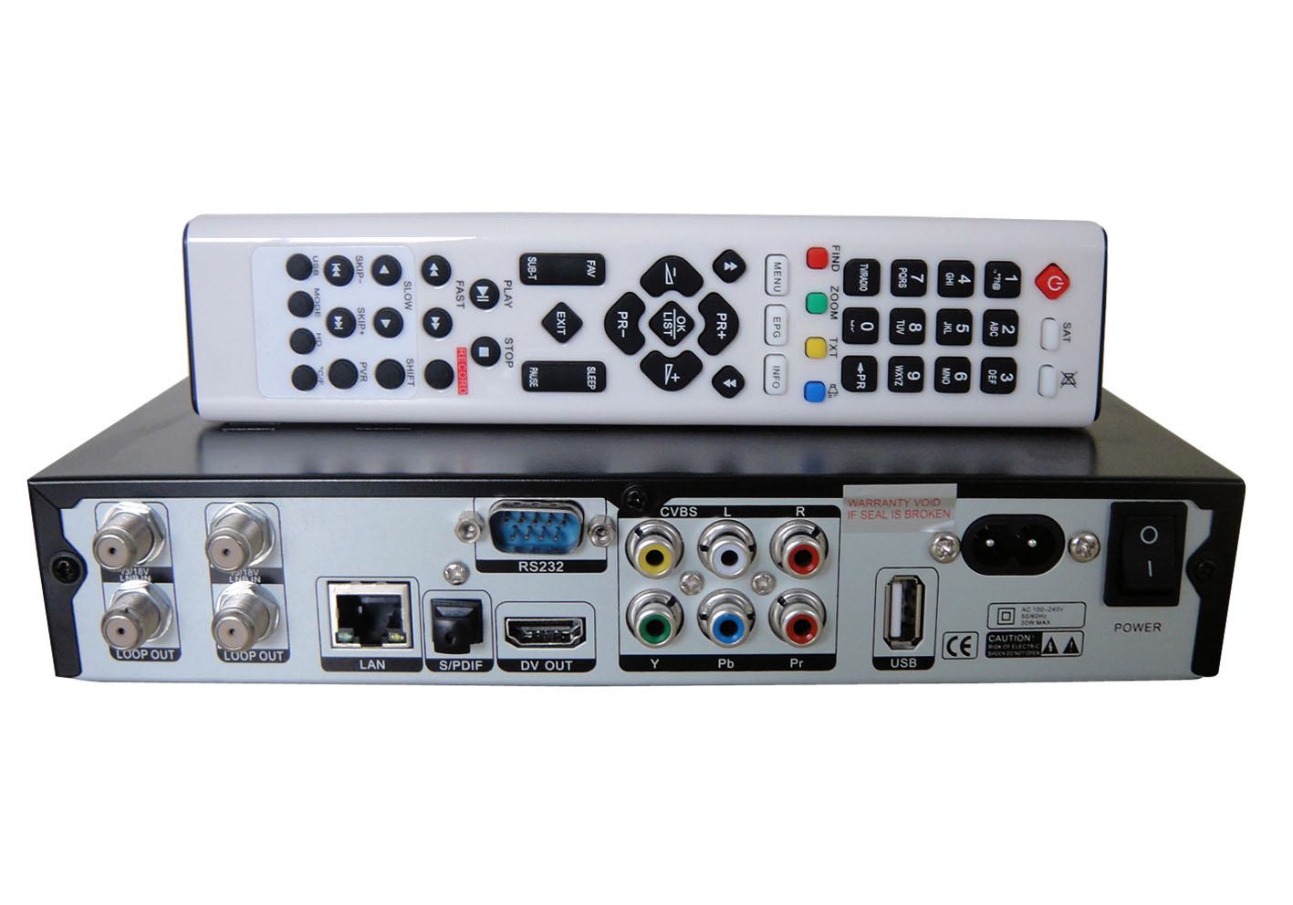 displaying signal finder hdmi digital satellite receiver south America