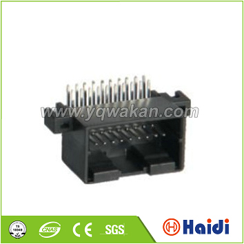 amp automotive ecu male plug 20-pin electrical pin connector