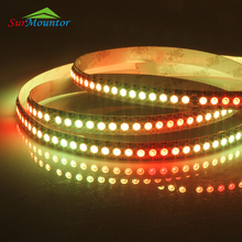 Remote Control Programmable Ws2812B Led Strip Rgbw 5050, Digital Rgb Led Strip Rgb 144 Led Pixel Strip Ws2812B 5V