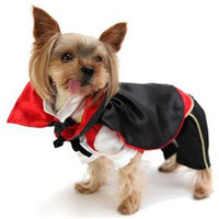 Vampire Coat China Dog Clothes Manufacturer Pet Halloween Costume