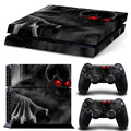 Game Accessories for PS4 Cosole Waterproof Skin Stickers Decals for Playstation 4