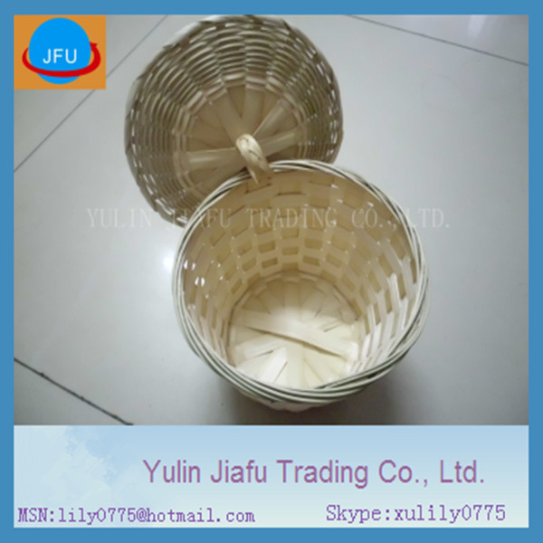 pure handmade weaving round brown special offer promotion bamboo basket