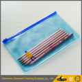 Custom Mini fashion waterproof makeup pvc zip lock bag eco recycled cheap wholesale custom logo pvc frosted zip lock bag