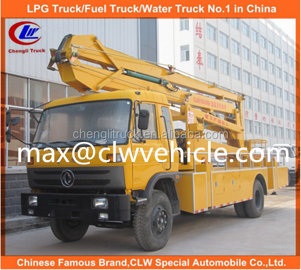High Quality Aerial Work Platform Truck truck mounted aerial work platform truck hydraulic high lift work platform