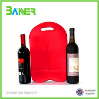 Promotional insulated cooler bag neoprene wine bag