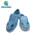 PU anti-static boots with hard sole for cleanroom
