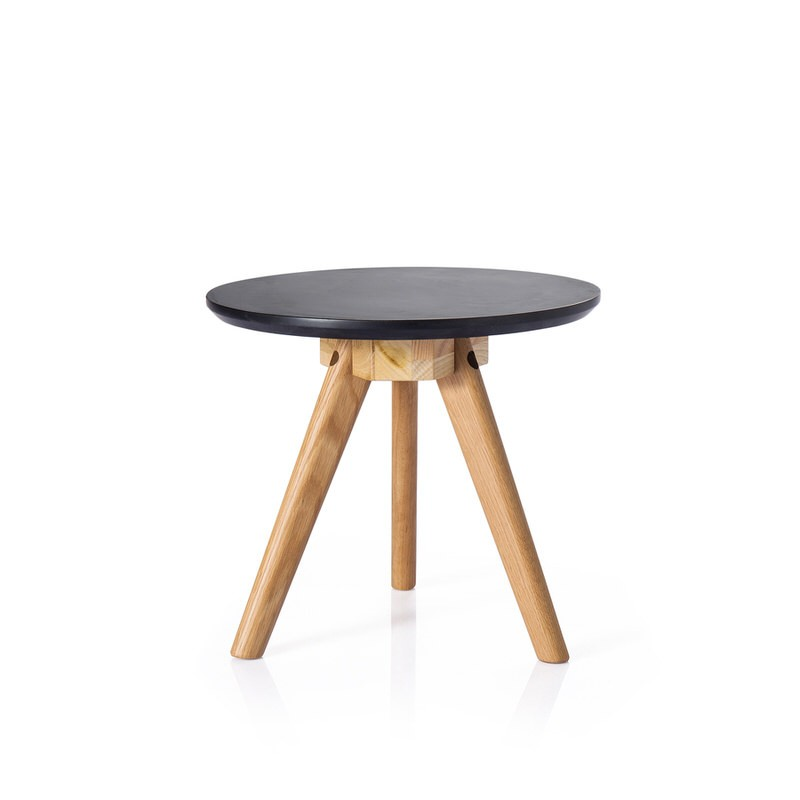 Living Room Furniture Side Table 2016 Modern Coffee Table Round Black Wood Table Buy Wood