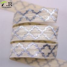 Shiny fold over elastic ribbon best as hair elastic