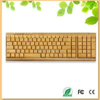 New arrival hot selling Germany style wood mechanical keyboard with 2keypads