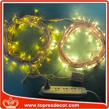 Manufactry decorative patio string lights