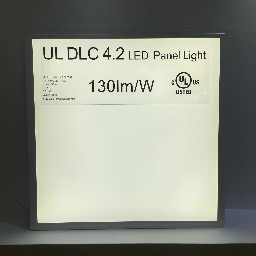 Best quality! PFC>0.9 100lm/w 1X1 wall mounted led panel light CE ROHS UL CSA certification/1x1led ceiling