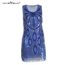 Latest Design beading bandage bling bling vintage style cocktail dresses fashion dress made in China