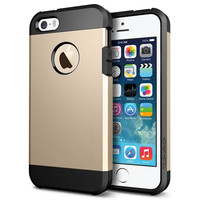 For iPhone 5S 6 Case Spige Tough Armor Case for iPhone 5/5S Silicone Case Gold Black Silver Gray Blue Coque For iphone 5s 6plus