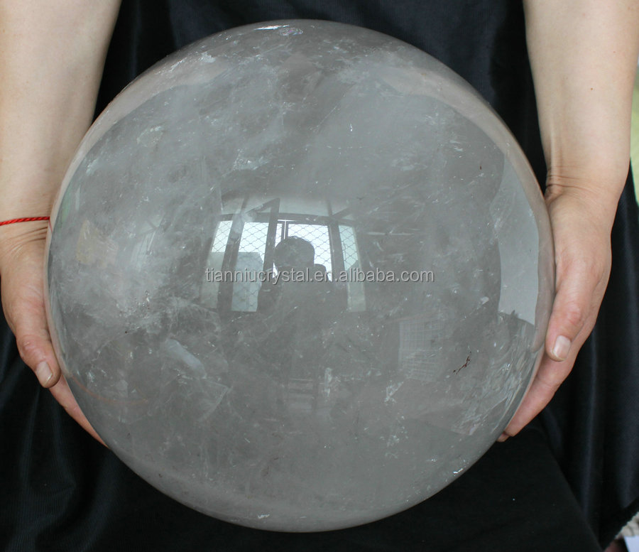 "51.33Kgs 113LB LARGE 13"" Natural Rock White Clear Quartz Crystal Spheres Balls ,Wholedales Price,Hot Sales"