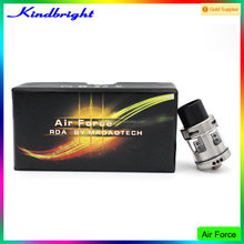 Newest kindbright hot selling air force one rda 1:1 clone/Samurai V2 rda/kayfun mini v3 with wholesale price