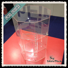 DELUXE Plastic ACRYLIC DISPLAY CABINET SHOWCASE
