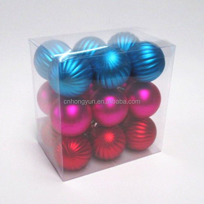 cheap but good quality blue , red, fushcia plating balls assorted in pvc box