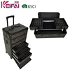 Top Grade Aluminum Cosmetic Case Trolley With Drawers