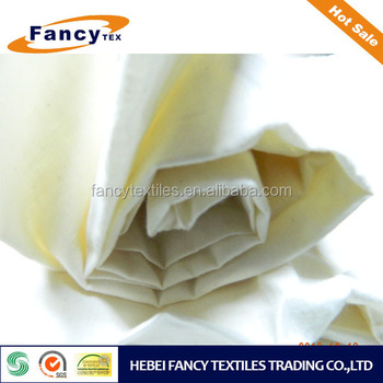 high quality cotton woven ingrey fabric by shuttle loom machine