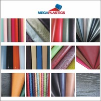 Colorful litchi pvc artificial leather soft bag soft decoration metal leather fabric
