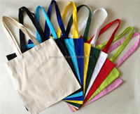 High Quality Plain Cotton Tote Bag Recycled Cotton Promotion Bag