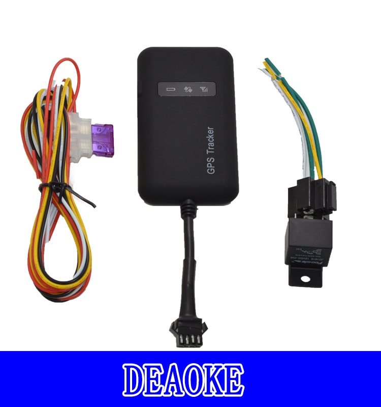 cheapest vehicle gps tracker with cut off engine acc alarm car gps tracker tk06 for india market