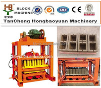 low investment high quality building concrete hollow block machine for extra large blocks product