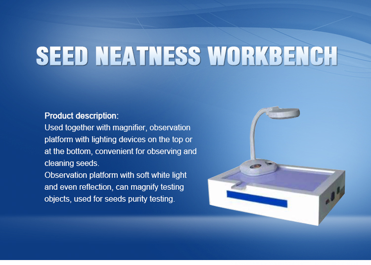 TJD-900 Vertical Seed neatness Workbench