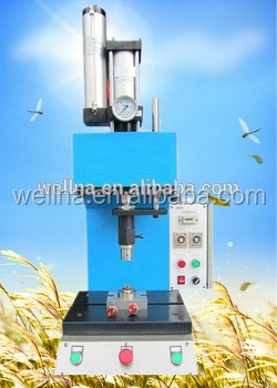 high quality Wellna WNADHC-15T punch hole and reviting machine