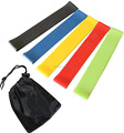 Yoga Fitness Workout Pilates Flexible Bungee Resistance loop band