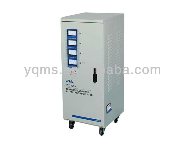 SVC-10K three phase high Precision automatic AC voltage stabilizer