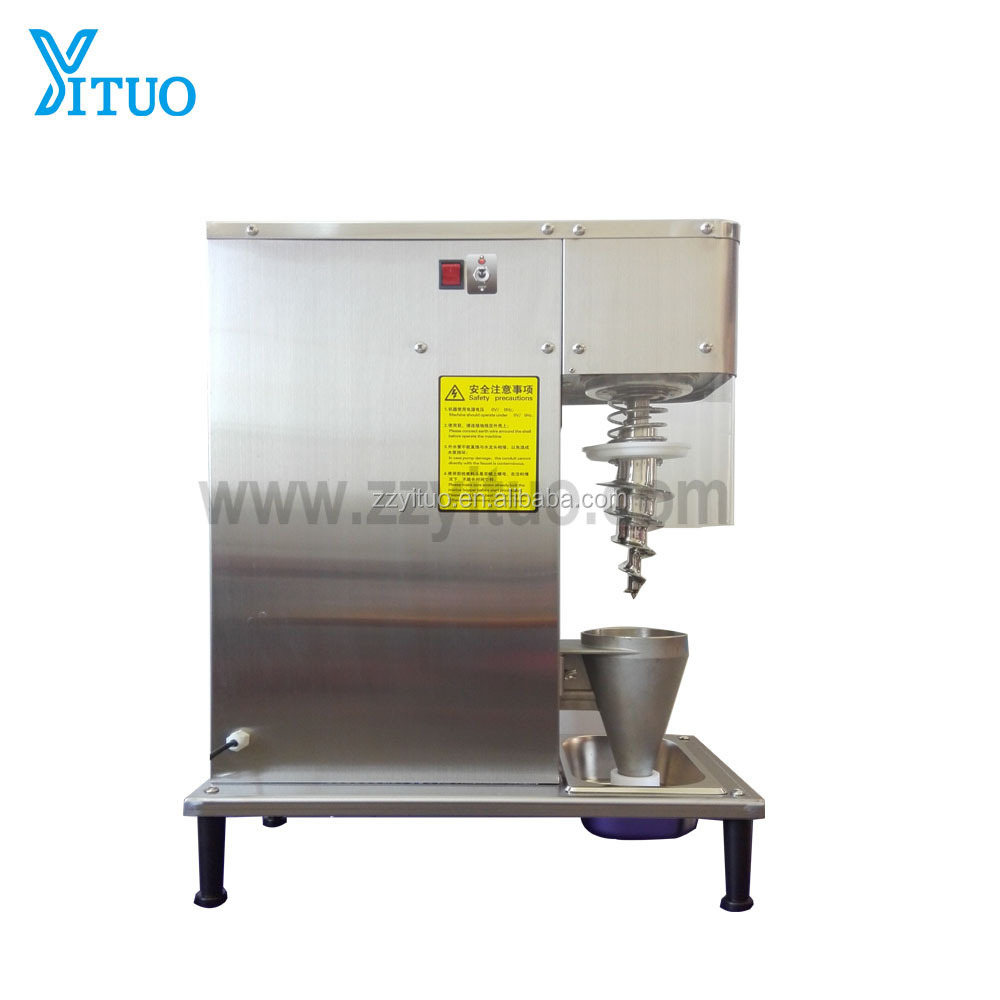 <strong>DHL</strong> shipping,manual yogurt fruit ice cream blender/mixer machine,big cone cup