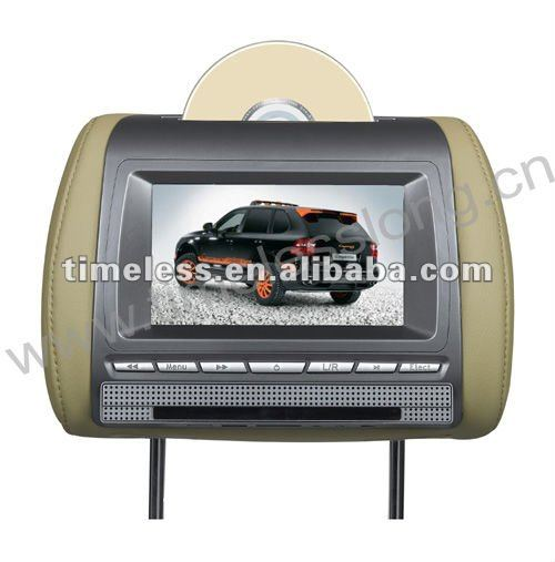 7'' Headrest DVD Player with USB Port and SD card reader