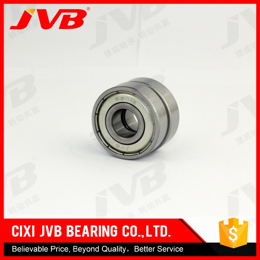 Made in cixi china Hot sale TS16949 Certificated Long Working Life motorcycle steering bearing 6201z