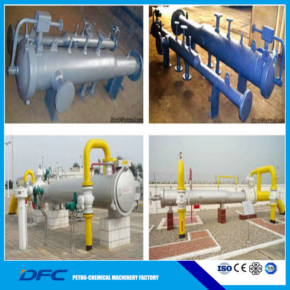 ASME ISO9001 China oil water gas machinery separator heat exchanger storage tank lpg lng pig laucher and receiver