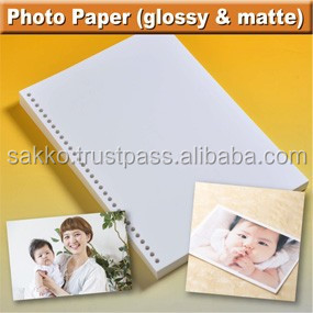 High quality inkjet album photo paper A4 from Japanese company
